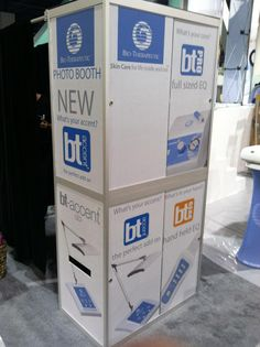 All Sides of this ShutterBooth had custom ShutterSkinz for ultimate branding!
