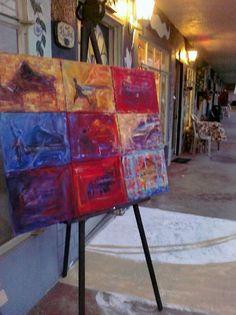 Open Studios, Jacqui Isensee's work and her studio.