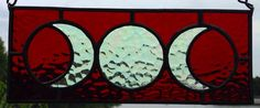 This is one of my favorites on Wiccan Supplies, Witchcraft Supplies & Pagan Supplies Experts-Eclectic Artisans: Red with Clear Triple Goddess Mini Panel