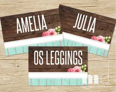 LuLaRoe Clothing Style Cards, LuLaRoe Style Card 4x6, LLR consultant clothing name cards for facebook album covers, best rustic wood vintage shabby chic design by MulliganDesign via ETsy