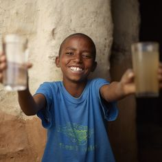 Hafte, age 12, spends more time in school and less time walking for water thanks to the @charitywater well in his village.