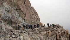Nervous tension as we got up for an easy 13 miles to Guitar Lake. The terrain had changed yet again and there was so much to see as we approached the cliffs of insanity (a.k.a. Mt. Whitney). The weather turned bad yet again as cloud came in and rain threatened. I …