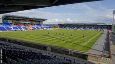 Caledonian Stadium; Inverness Caledonian Thistle -- Inverness, Scotland.