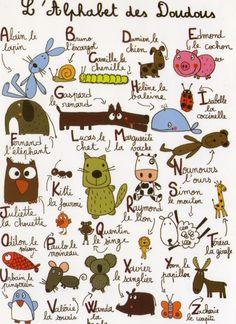 Le bistrot du FLE: L'alphabet des doudous