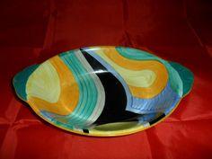 RARE Grays Susie Cooper Hand Painted Abstract Bowl Art Deco C1929 | eBay