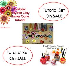 SALE Tutorial Set. Polymer clay tutorial on SALE. by sigalsart,