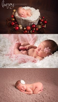 Christmas Newborn Photography Session | Oregon Newborn Photographer