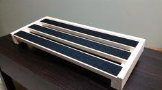 diy custom $12 pedalboard