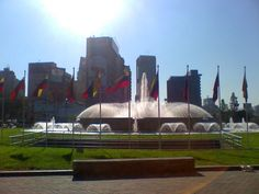 La Plaza Venezuela, Caracas