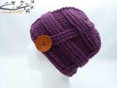 reliëf muts pattern by Joke Decorte Crochet Gloves, Crochet Beanie, Knitted Hats, Knit Crochet, Crochet World, Online Gratis, Ear Warmers, Ravelry, Headbands