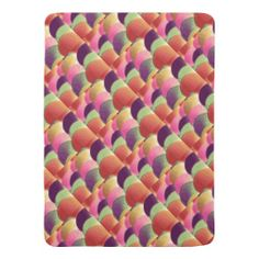 Jelly Beans Baby Blanket by Janz