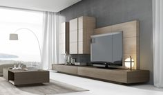 Relaxing Places, Tv Cabinets, Decoration, Contemporary Furniture, House Design, Living Room, Interior Design, Mirror, Projects