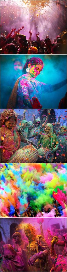 This is life in colour