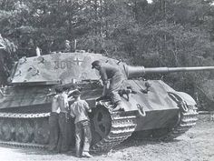 A King Tiger with the schwere Panzer Division Abt. 503