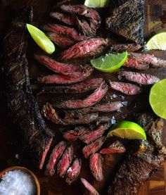 "4,672 Likes, 68 Comments - Jules (@julesfood) on Instagram: ""Tender grass fed Skirt Steak with a spicy smoky crust for Carne Asada... I finally broke out the…"""