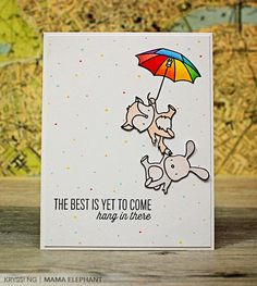 Card by Kryssi Ng for Mama Elephant