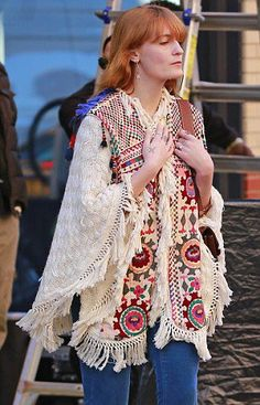 Florence Welch in New York