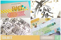toolbox - a new online class from @StudioCalico where you can learn all kinds of awesome techniques!!