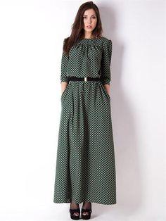 Платье купить с длинными рукавами