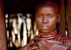 Utah girl in Hamer tribe - Ethiopia by Eric Lafforgue, via Flickr