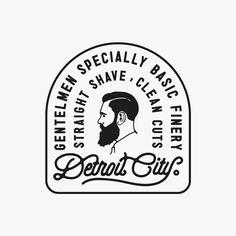 One piece for my buddy's project #logo #logos #design #designs #barbershop #beard #gentlemen #handlettering #lettering #typography #jims #wawawsrynn #vintage #haircut #style