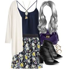 """Lydia Inspired Work Party Outfit"" by veterization on Polyvore"