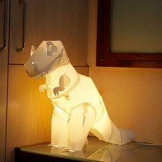 T REX  l ティーレックス - 楽しみながらDIYで作る組み立て式恐竜ランプセット by Brando