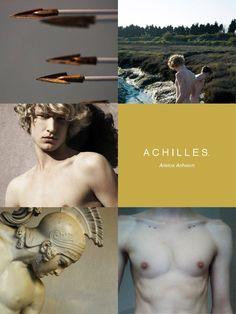 "greek mythology aesthetics → achilles ""Sing, goddess, of Achilles' ruinous…"