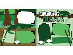 """""""Exploring the Swamp"""" Scrapbook Kit"""