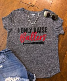 c47088c0 Excited to share the latest addition to my shop: I only raise ballers tshirt