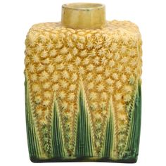 c.1700's  Rare Whieldon School Pottery Pineapple Tea Caddy... English