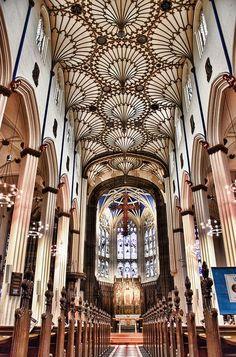 Edinburgh, St John's Episcopal church. William Burn 1816 (plaster)