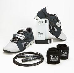 Again Faster - Equipment for CrossFit - Reebok Lifter Athlete Pack - Gravel/Steel (MEN'S)
