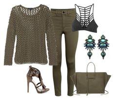 """Sem título #981"" by alandim on Polyvore featuring moda, H&M, rag & bone, RVCA, Balenciaga e Elizabeth Cole"