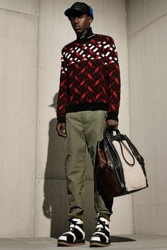 Alexander Wang Fall 2015 Menswear - Collection - Gallery - Style.com : print : sweater