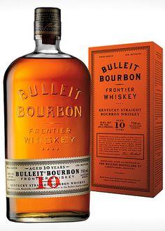 Bulleit Bourbon Frontier Whiskey - new favorite drink: BULLEIT BOURBON, LUXARDO MARASCHINO LIQUEUR, UNSWEETENED ICED TEA, LEMON JUICE, MARINATED AMARENA CHERRIES, SHAKEN ICE COLD AND SERVED IN A FROZEN WHISKEY GLASS