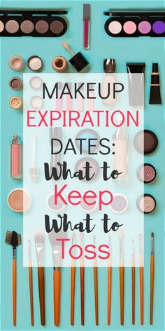 I know the thought of throwing away your favorite mascara or lipstick you spent good money on is hard to think about, but makeup expiration dates are actually really important. Here's why.