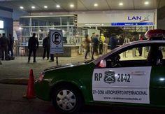 Roban 6.000 millones de pesos a camión Brinks en el Aeropuerto de Santiago | SurNoticias.cl / Agencia ArtPress_