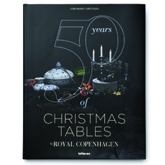 50 years of Christmas Tables - Coffee table book – ENGLISH