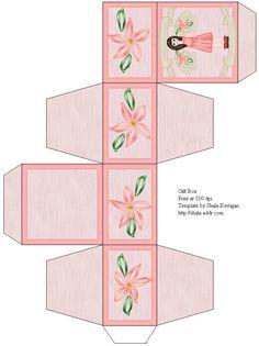 Miniature Printables - Pink Box.