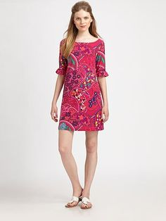 Lilly Pulitzer - Somerset Cotton Dress - Saks.com