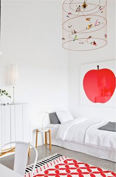 red accents // Bloesem Living