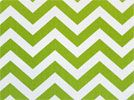 More chevron print. My bedroom used to be this color -- now it's my son's... I may have a problem, but it's such a great color!