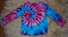 f1fab4813c17 Batikované tričko vel. 98 - Růžové snění   Zboží prodejce Happy Sunshine