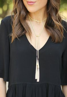 @kendrascott Phara Necklace (it can be worn multiple ways!)