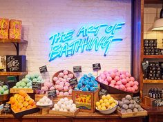 Lush is one of those stores that you can find by smell.