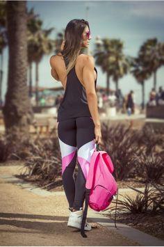 Legging CHROME LABEL - Carol Saraiva - Produtos Fitness