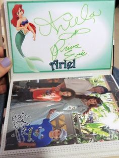 Disney Autograph Books with templates for each character link<---scrapbook paper for them to sign??? I've seen character paper at the craft store before