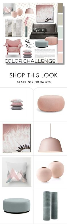 """Untitled #796"" by valentina1 on Polyvore featuring interior, interiors, interior design, home, home decor, interior decorating, Privé, Arper, Graham & Brown and Williams-Sonoma"