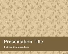 Fresh page PowerPoint Template